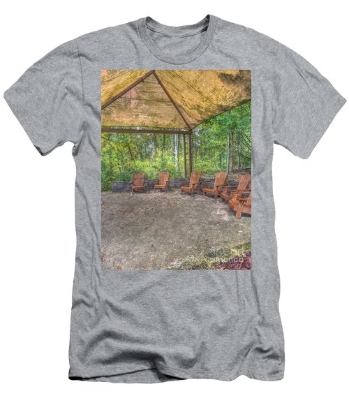 Blacklick Woods - Chairs Men's T-Shirt (Athletic Fit)