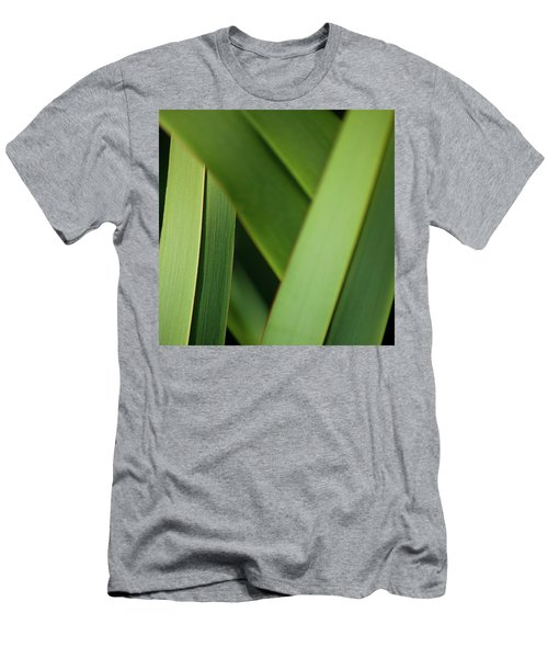 Men's T-Shirt (Athletic Fit) featuring the photograph Blades I by Mark Shoolery