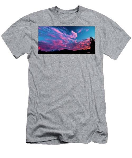 Blazing Sunset Men's T-Shirt (Athletic Fit)