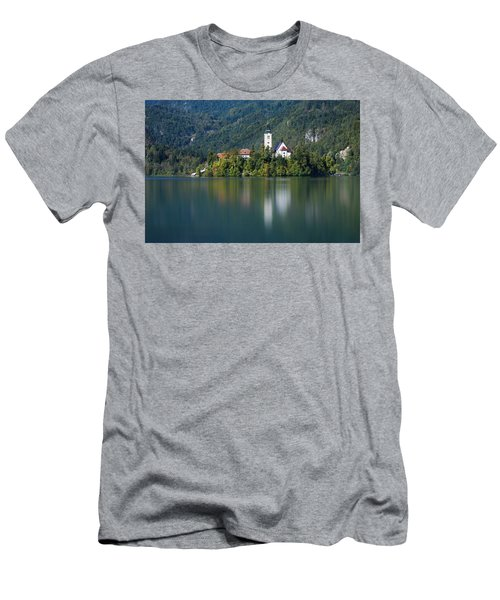 Men's T-Shirt (Athletic Fit) featuring the photograph Bled Island by Davor Zerjav