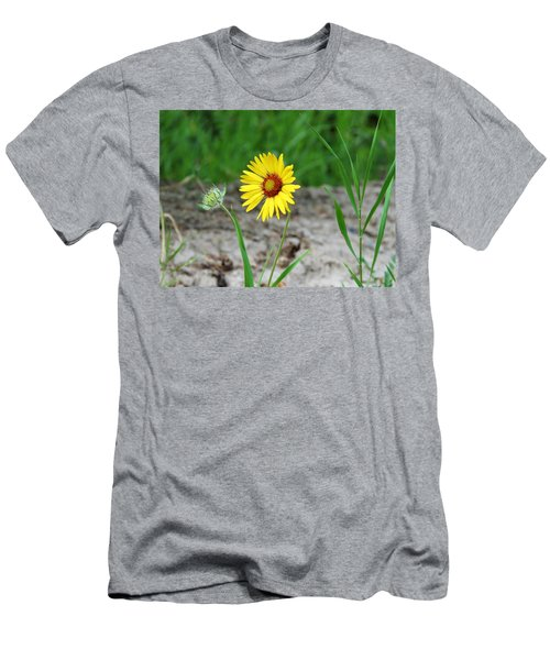 Bloom And Waiting Men's T-Shirt (Athletic Fit)