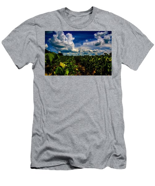 Blooming Cotton  Men's T-Shirt (Athletic Fit)