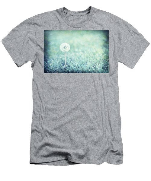 Blue Dandelion Men's T-Shirt (Athletic Fit)