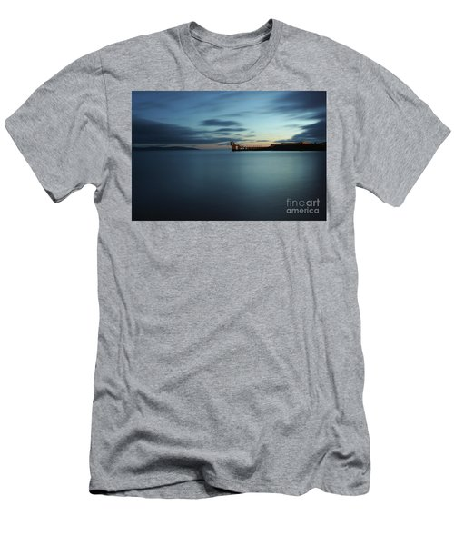 Blue Hour Salthill Men's T-Shirt (Athletic Fit)