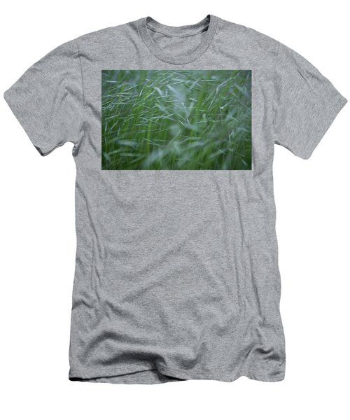 Blurry Wheat Men's T-Shirt (Athletic Fit)