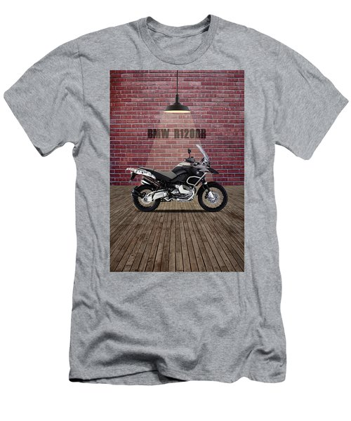 Bmw R1200r Red Wall Men's T-Shirt (Athletic Fit)