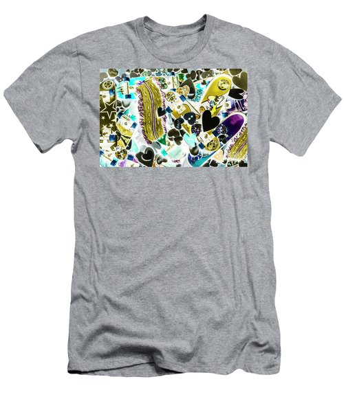 Boarding Background Men's T-Shirt (Athletic Fit)