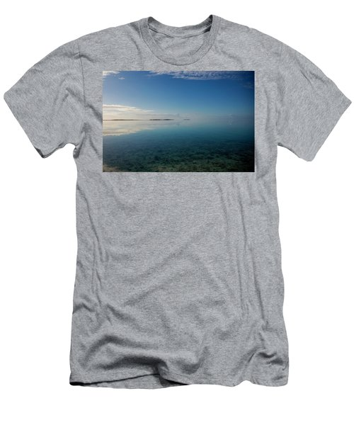 Bonefish Flats, Great Exuma Men's T-Shirt (Athletic Fit)
