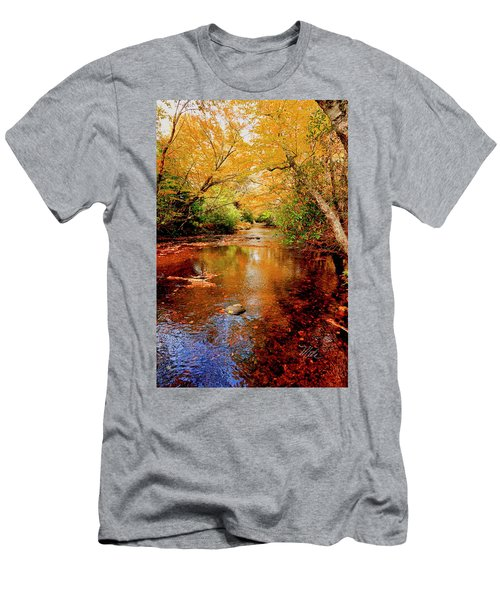 Boone Fork Stream Men's T-Shirt (Athletic Fit)