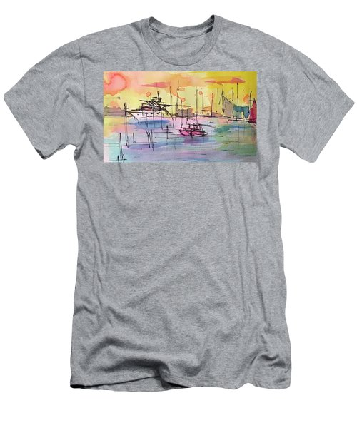 Boothbay 2  Men's T-Shirt (Athletic Fit)