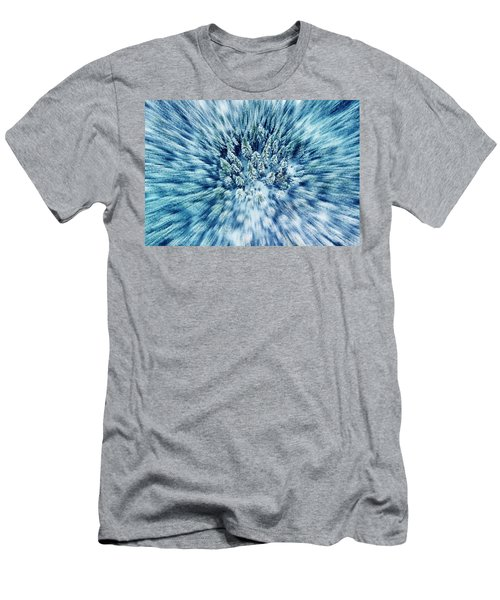 Boreal Forest In Winter Men's T-Shirt (Athletic Fit)