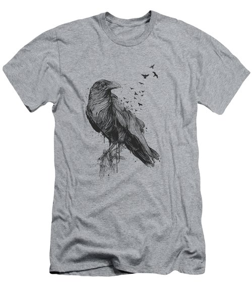 Born To Be Free  Men's T-Shirt (Athletic Fit)