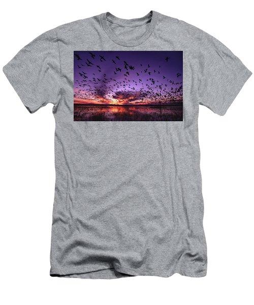 Bosque Blastoff Men's T-Shirt (Athletic Fit)