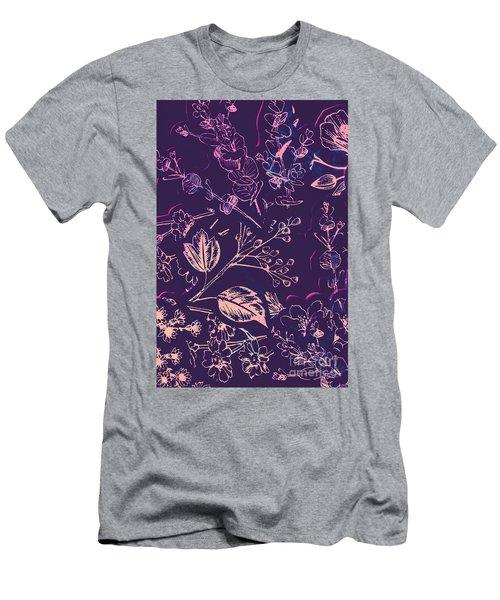 Botanical Branching Men's T-Shirt (Athletic Fit)