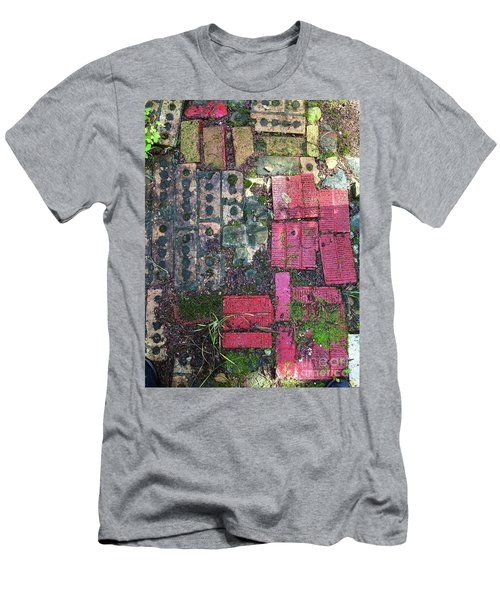 Brick Composition 3 Men's T-Shirt (Athletic Fit)