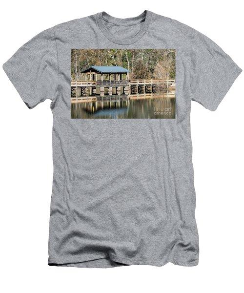 Brick Pond Park - North Augusta Sc Men's T-Shirt (Athletic Fit)