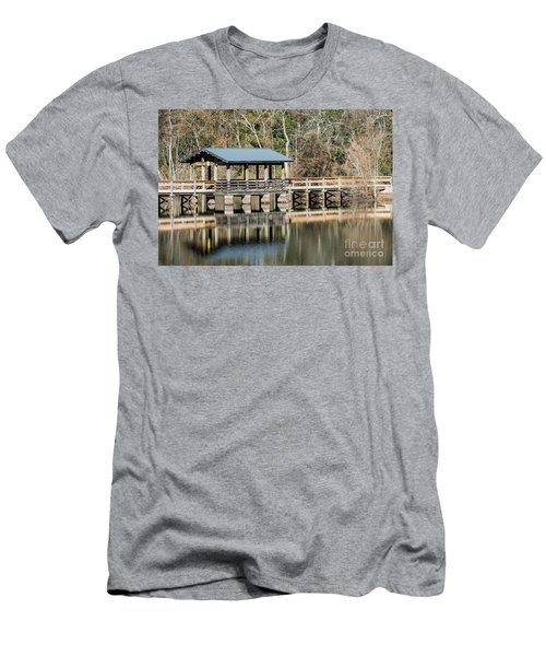 Brick Pond Park - North Augusta Sc Men's T-Shirt (Athletic Fit)