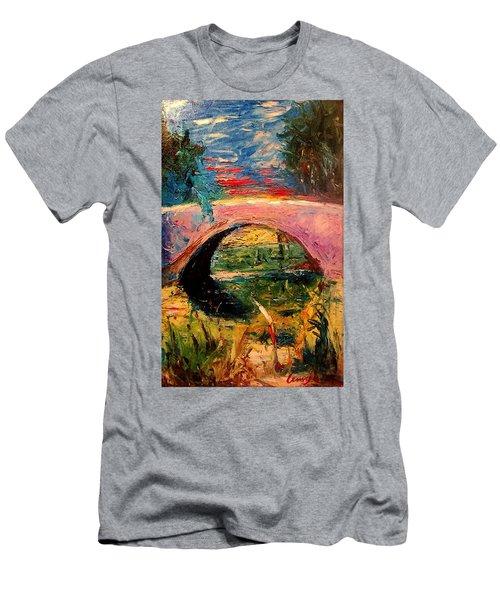 Bridge At City Park Men's T-Shirt (Athletic Fit)