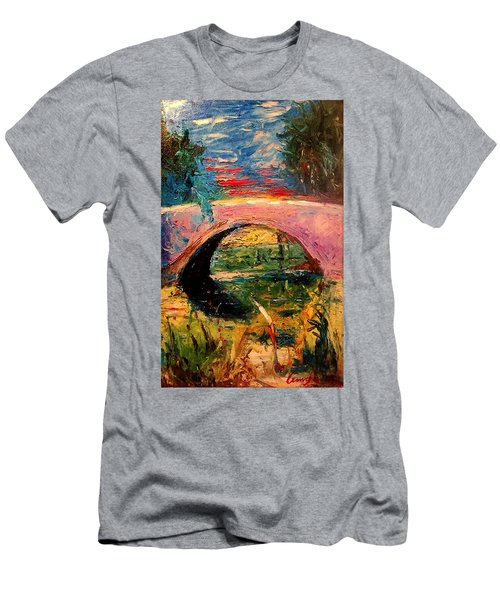 Bridge At City Park Men's T-Shirt (Athletic Fit)