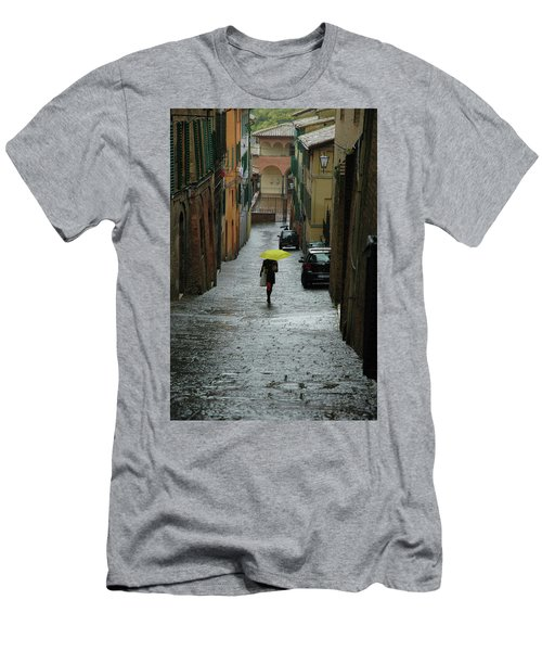Bright Spot In The Rain Men's T-Shirt (Athletic Fit)