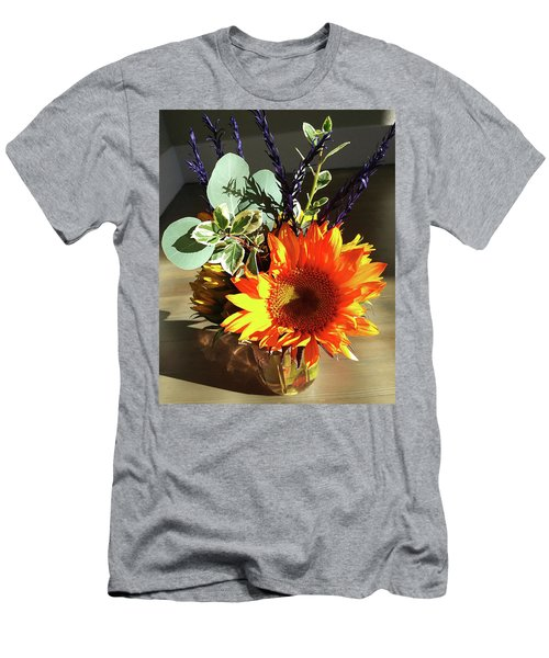 Bright Sunflower Autumn Gift Men's T-Shirt (Athletic Fit)