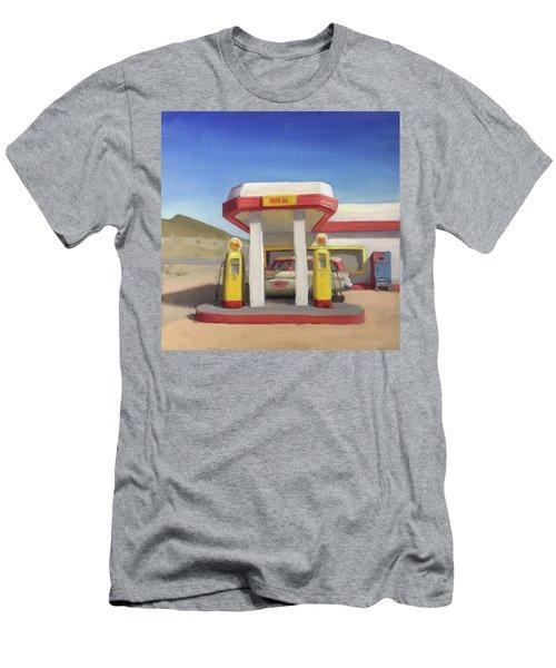 Broken Spoke Saloon, Lowell Men's T-Shirt (Athletic Fit)