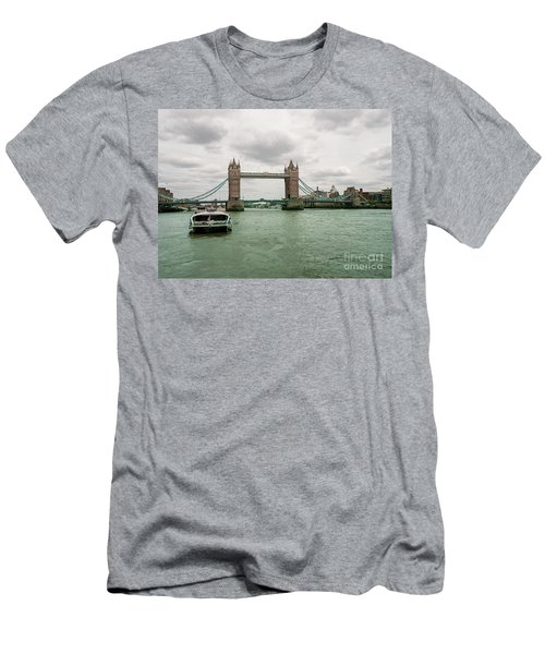 Building Bridges Men's T-Shirt (Athletic Fit)