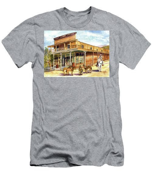 Burros Are Back In Town Men's T-Shirt (Athletic Fit)