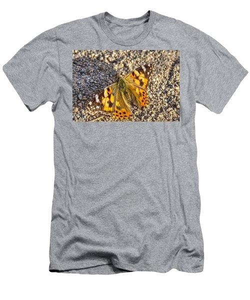 Butterfly Beauty  Men's T-Shirt (Athletic Fit)