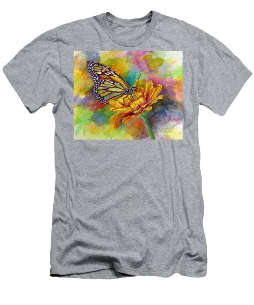 Butterfly Kiss Men's T-Shirt (Athletic Fit)