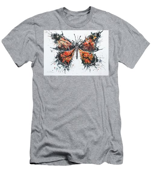 Butterfly Study I Men's T-Shirt (Athletic Fit)
