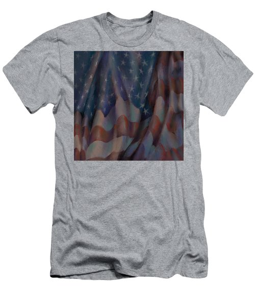 By The Dawns Early Light Men's T-Shirt (Athletic Fit)