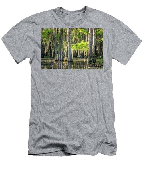 Caddo Swamp 1 Men's T-Shirt (Athletic Fit)