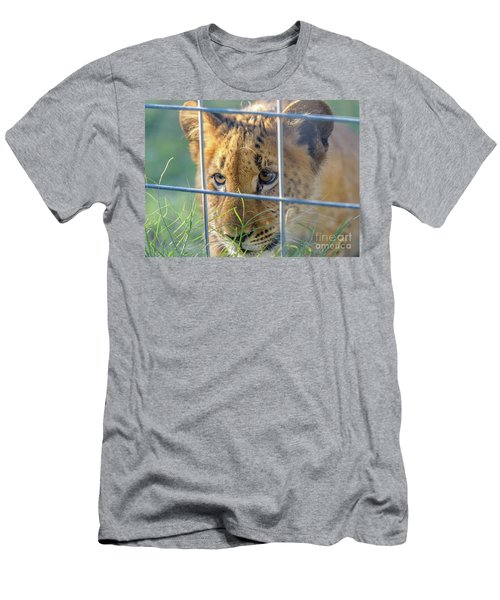 Caged Men's T-Shirt (Athletic Fit)