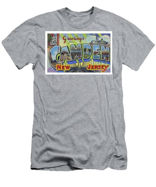 Men's T-Shirt (Athletic Fit) featuring the photograph Camden Greetings by Mark Miller