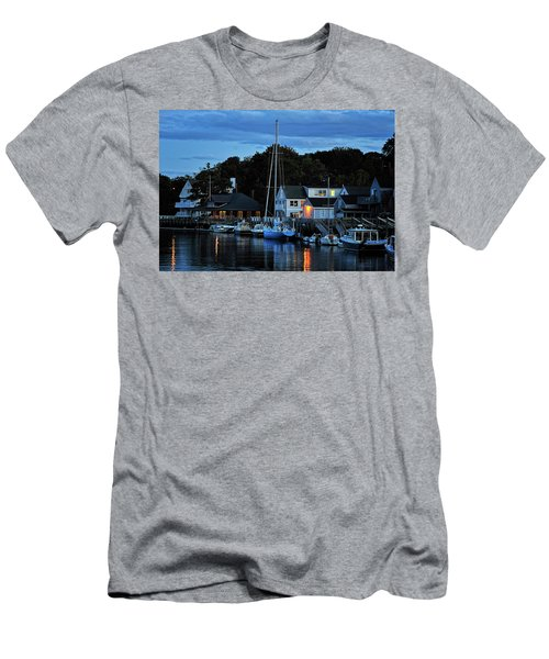 Camden Maine Twightlight Men's T-Shirt (Athletic Fit)