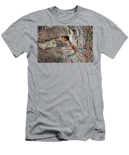 Camo Cat Men's T-Shirt (Athletic Fit)