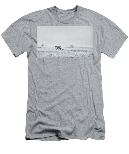Cannon Out In The Field Men's T-Shirt (Athletic Fit)