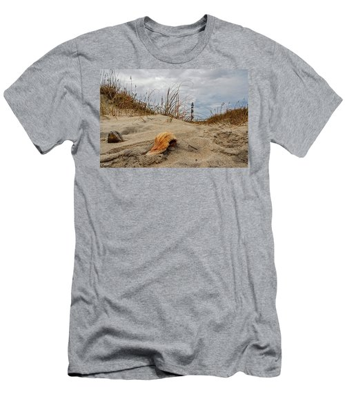 Cape Lookout Lighthouse Men's T-Shirt (Athletic Fit)