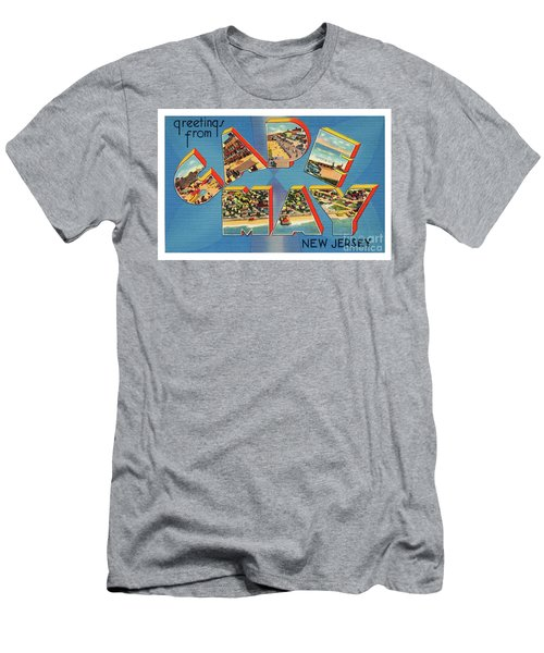 Cape May Greetings - Version 2 Men's T-Shirt (Athletic Fit)