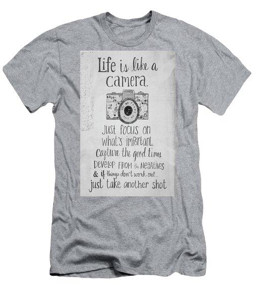Capture Whats Important Men's T-Shirt (Athletic Fit)