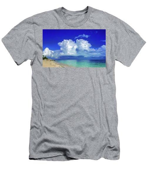 Caribbean Clouds Men's T-Shirt (Athletic Fit)