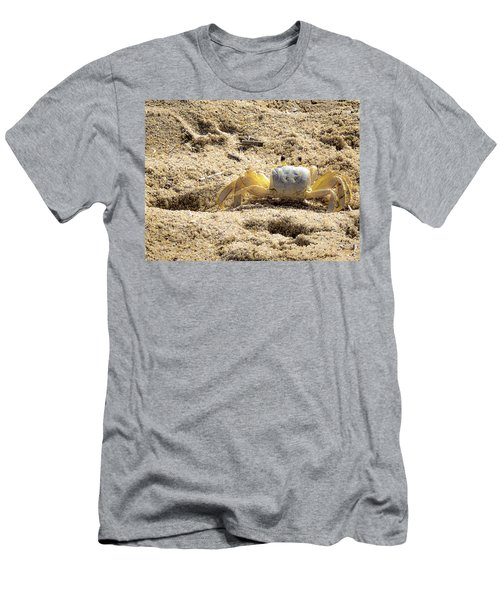 Men's T-Shirt (Athletic Fit) featuring the photograph Carl The Crab by Lora J Wilson