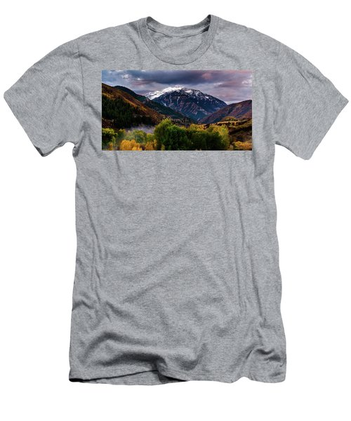 Cascade Mountain Men's T-Shirt (Athletic Fit)