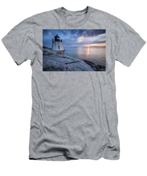 Castle Hill Light Sunset Men's T-Shirt (Athletic Fit)