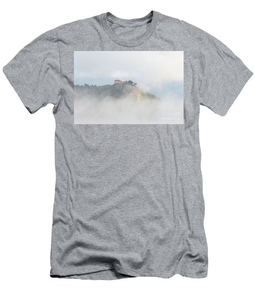 Men's T-Shirt (Athletic Fit) featuring the photograph Castle In The Sky by IPics Photography
