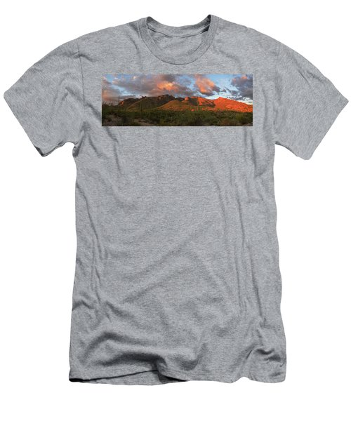 Catalina Mountains, Arizona Men's T-Shirt (Athletic Fit)