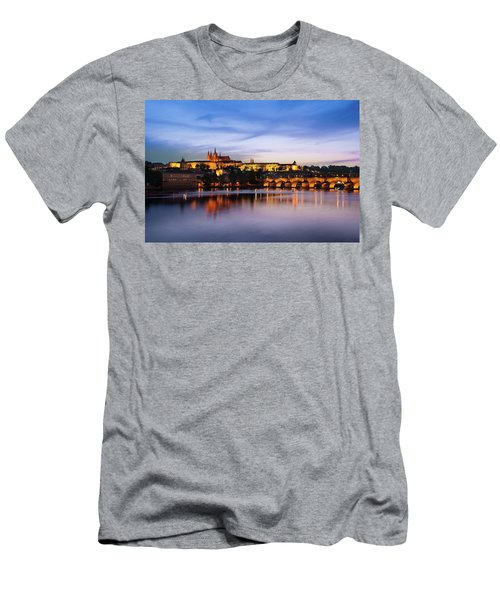 Charles Bridge Men's T-Shirt (Athletic Fit)