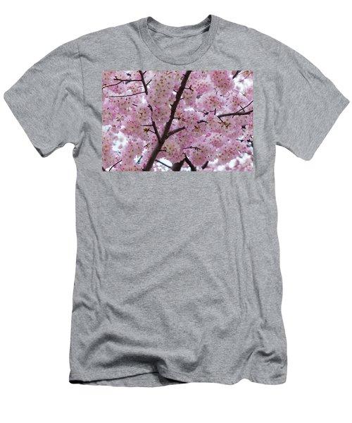 Cherry Blossoms 8611 Men's T-Shirt (Athletic Fit)
