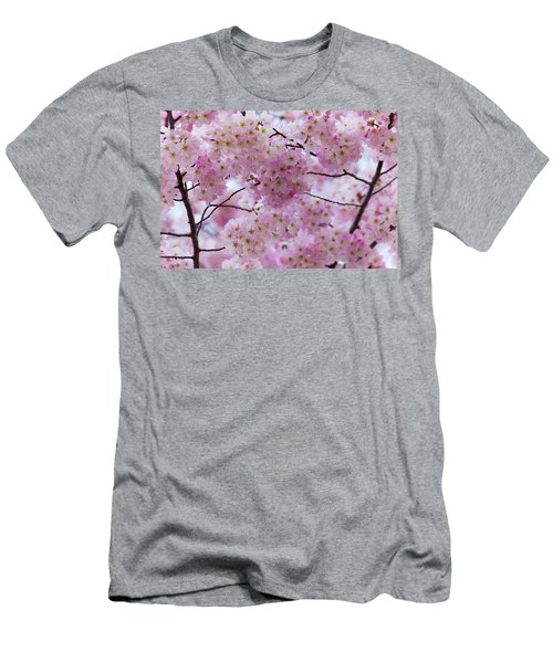 Men's T-Shirt (Athletic Fit) featuring the photograph Cherry Blossoms 8625 by Mark Shoolery